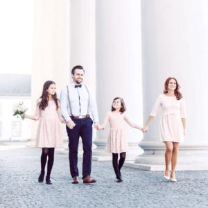 Familienfotos Schloss Koblenz
