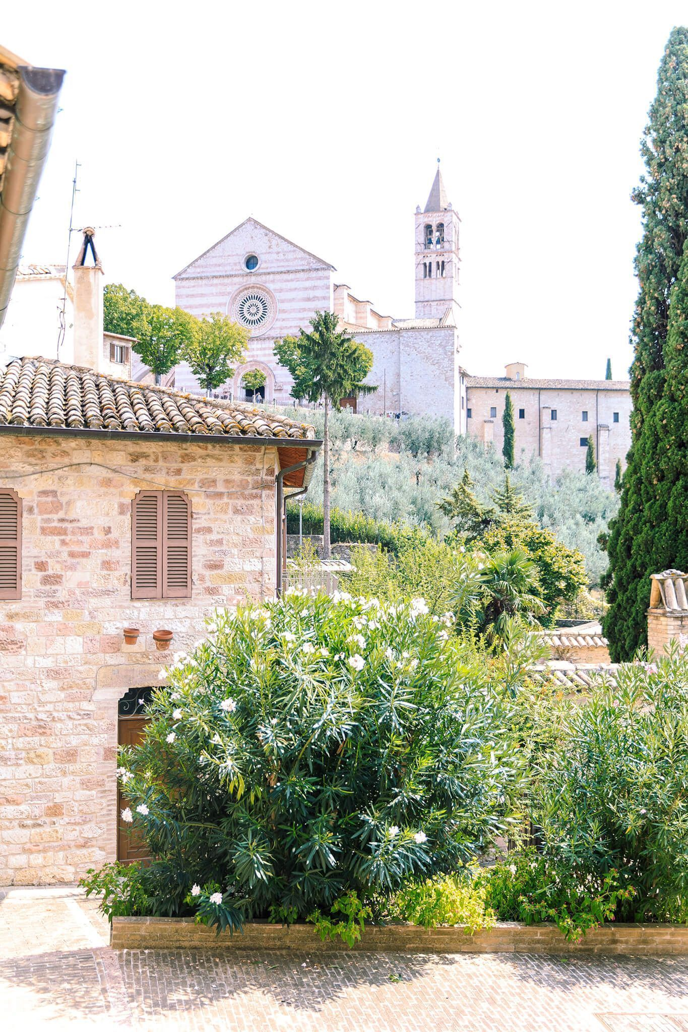Hochzeit in Italien - After Wedding Shooting in Assisi - Location